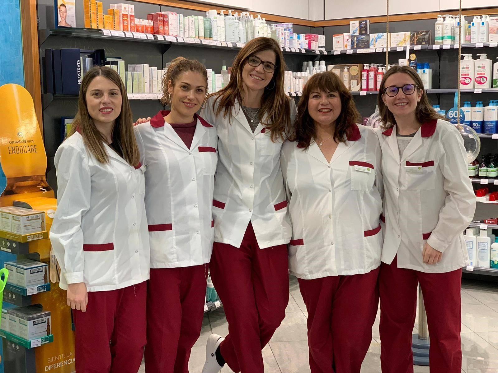 Equip farmàcia Judith Bardolet